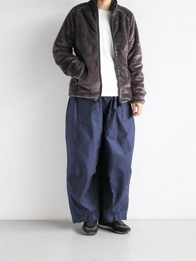 Needles Sportswear Piping Jacket - Micro Fleece / Grey_b0139281_12574082.jpg