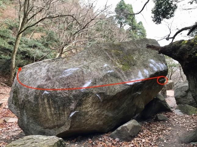 芦屋ロックガーデンボルダーpt.1 山櫻:初段 セッション、マット、スポットについて_b0220886_17122006.jpeg