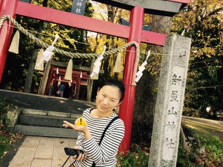 山梨旅行。新屋山神社。_b0370192_20251506.jpg