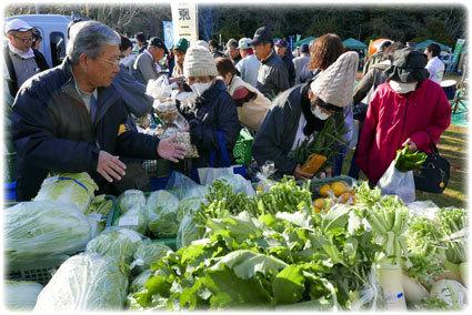 今日は恒例の収穫祭_b0145296_12584567.jpg