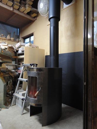 キッチンストーブegg 試し焚き_a0122098_123559.jpg