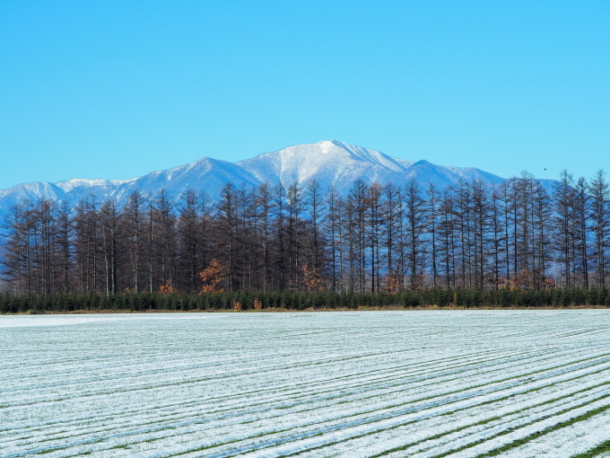 雪化粧の日高山脈~冬の晴天率の高さが移住の決め手!_f0276498_00245622.jpg