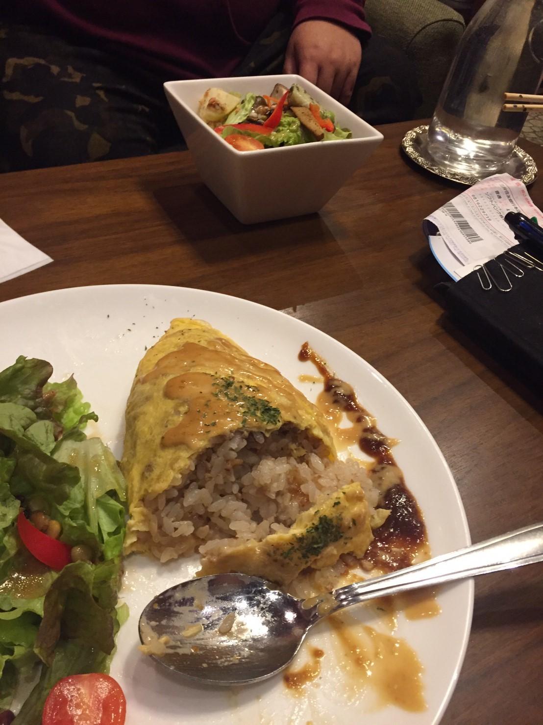 喫茶 1er ぷるみえ (豚そぼろご飯に柚子味噌のマヨネーズ)_e0115904_12515162.jpg