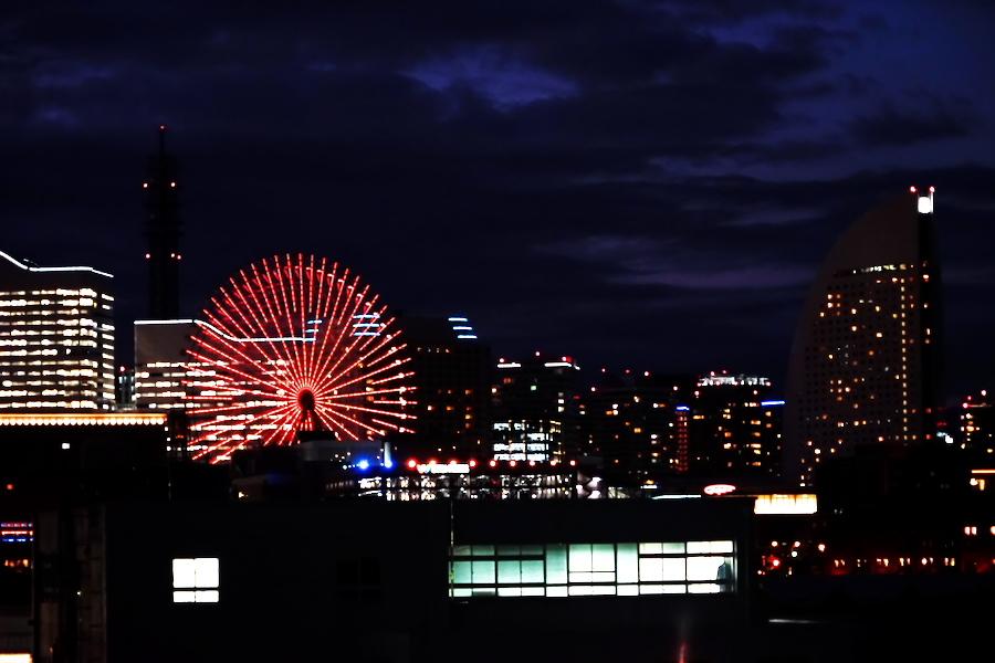 横浜港の夜景1_a0263109_10464084.jpg