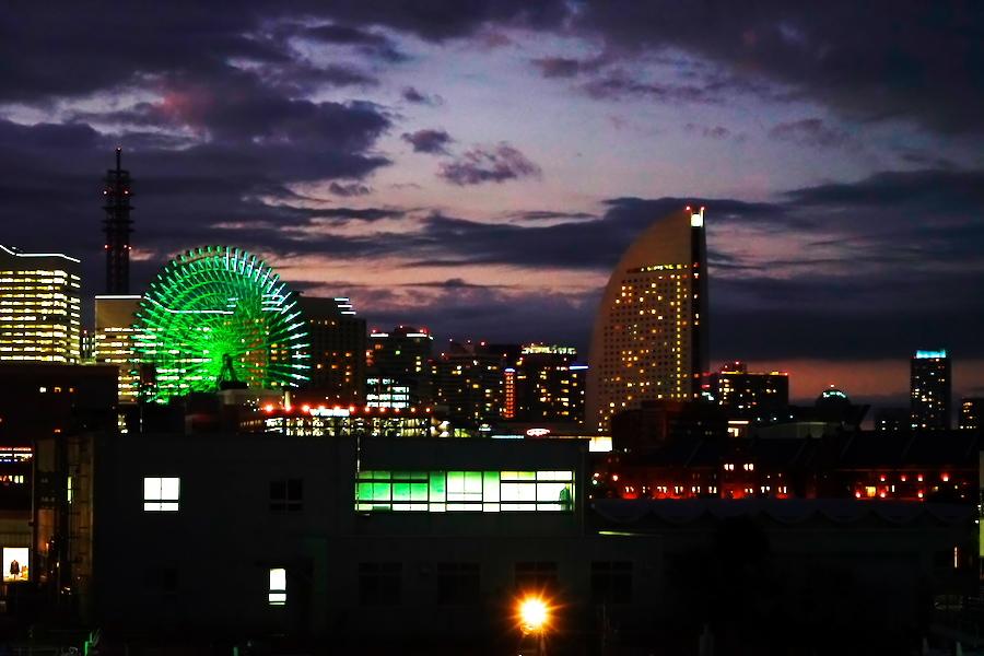 横浜港の夜景1_a0263109_10464091.jpg