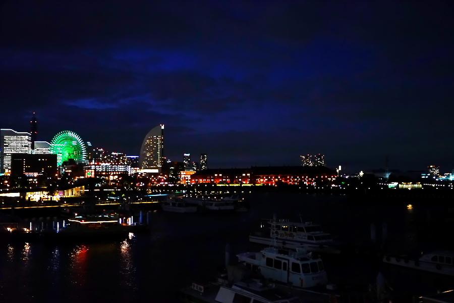 横浜港の夜景1_a0263109_10464156.jpg