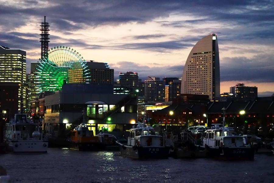 横浜港の夜景1_a0263109_10464158.jpg