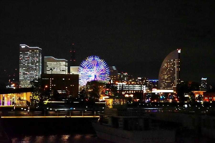 横浜港の夜景1_a0263109_10471382.jpg
