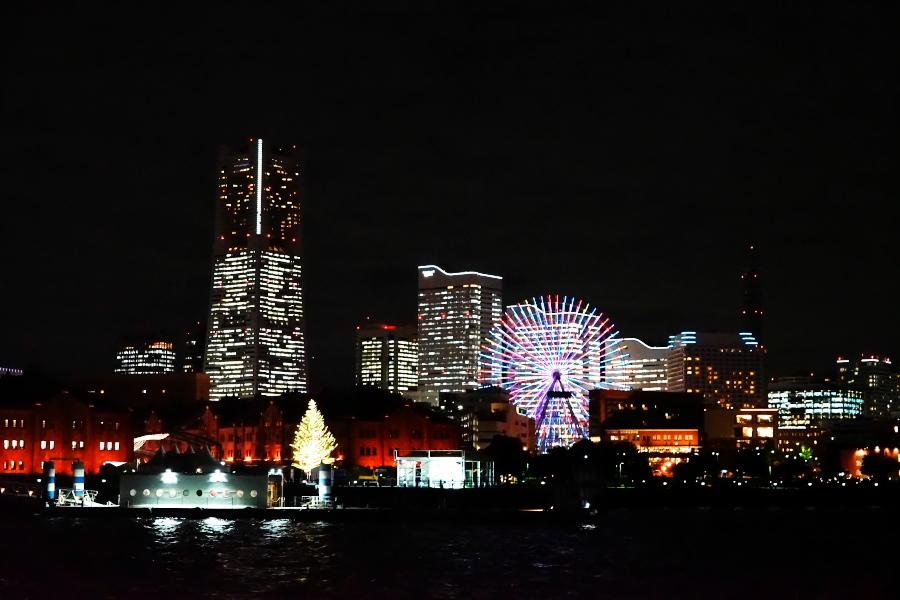 横浜港の夜景1_a0263109_10473785.jpg