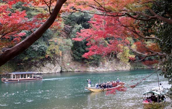 紅葉が盛り 嵐山・亀山公園_e0048413_17462662.jpg