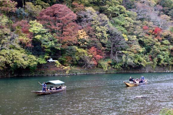 紅葉が盛り 嵐山・亀山公園_e0048413_17463933.jpg