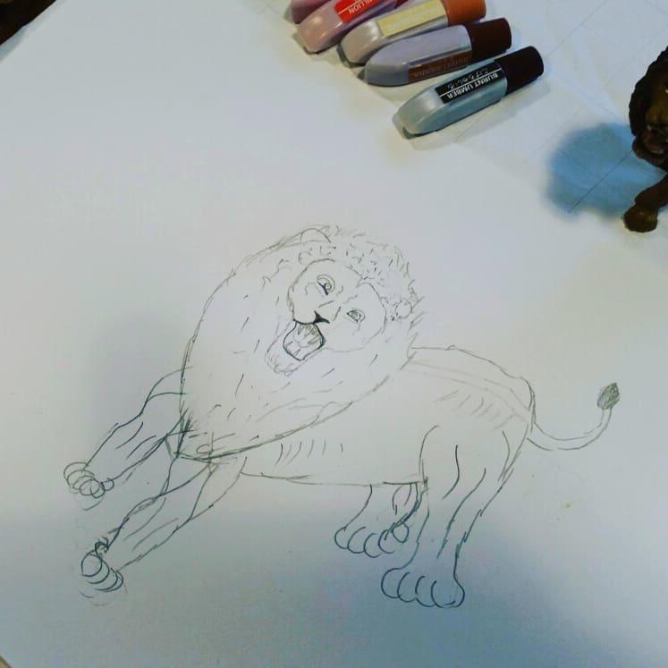 図工クラブ「たからのにわ」~「絵を描こう」_f0208315_10341521.jpg