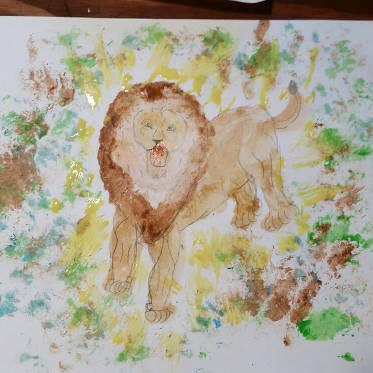 図工クラブ「たからのにわ」~「絵を描こう」_f0208315_10343231.jpg