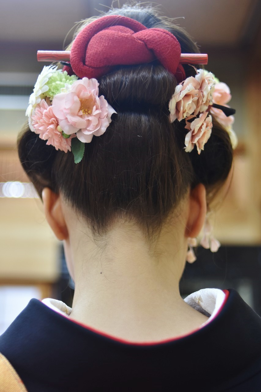 Happy Wedding 前撮り 和装_d0065116_22034454.jpg
