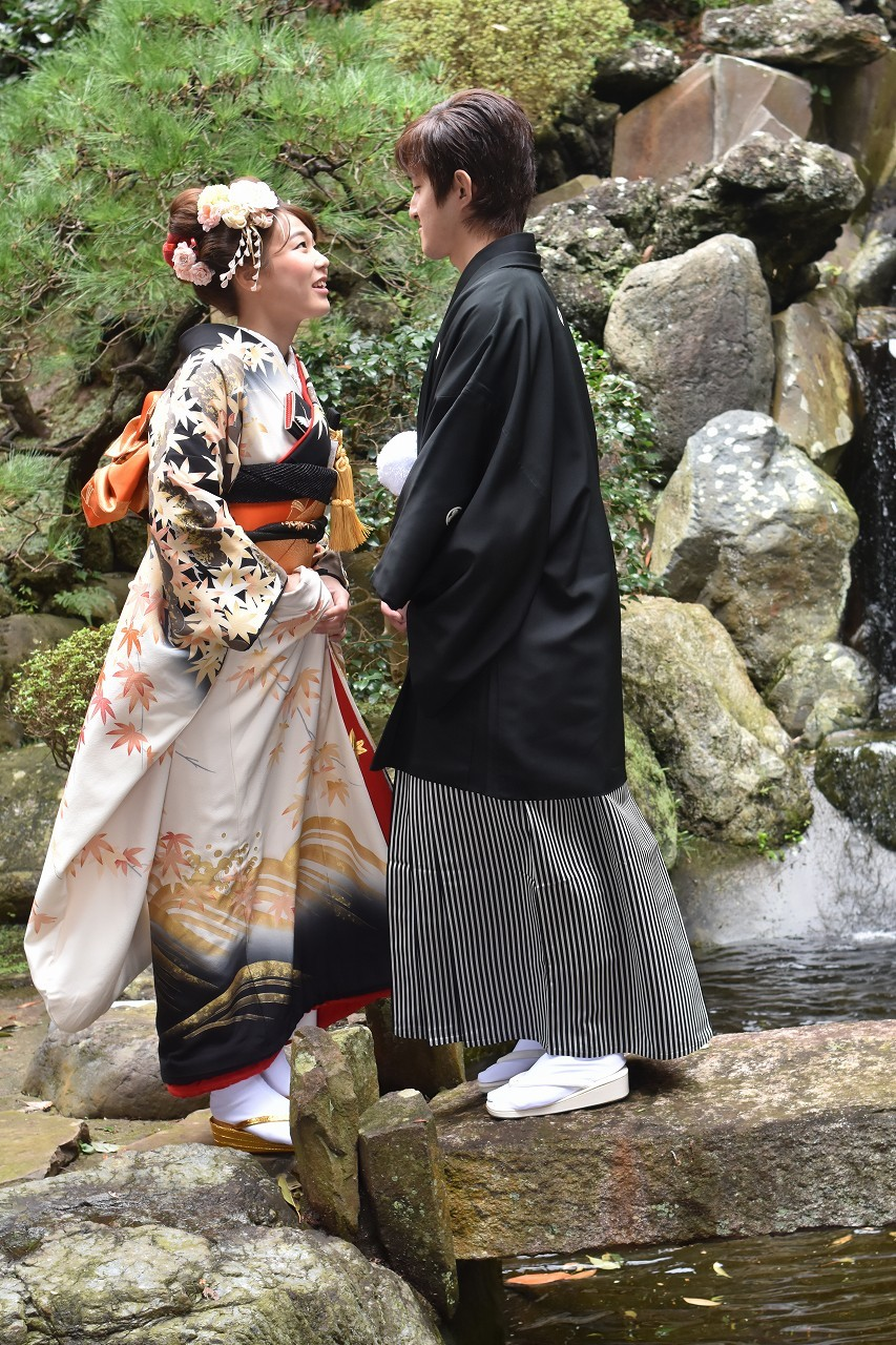 Happy Wedding 前撮り 和装_d0065116_22080313.jpg
