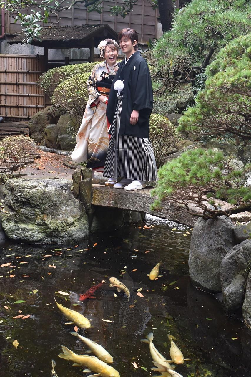 Happy Wedding 前撮り 和装_d0065116_22085779.jpg