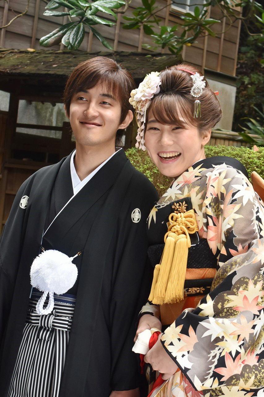 Happy Wedding 前撮り 和装_d0065116_22101079.jpg