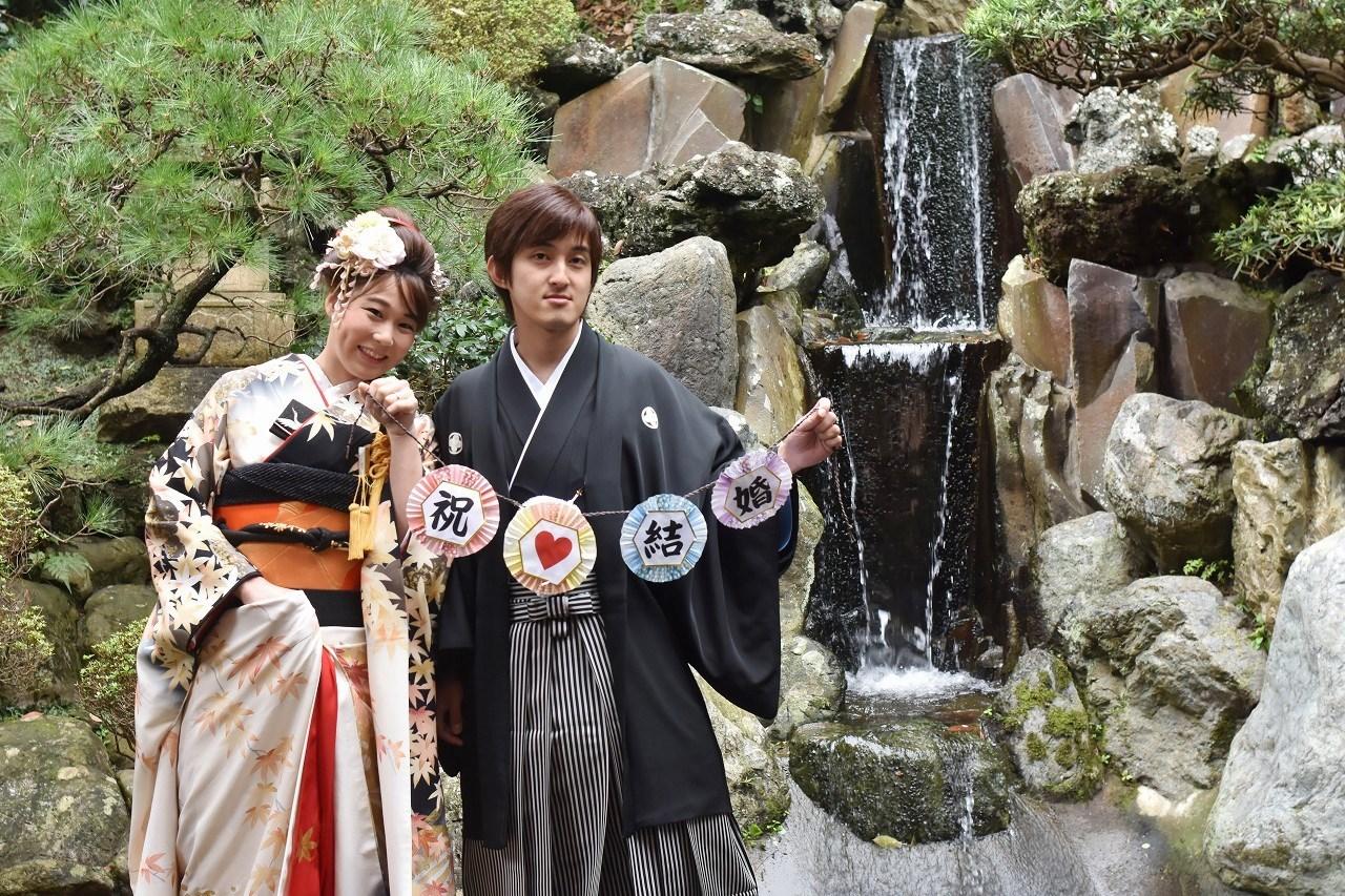 Happy Wedding 前撮り 和装_d0065116_22131655.jpg