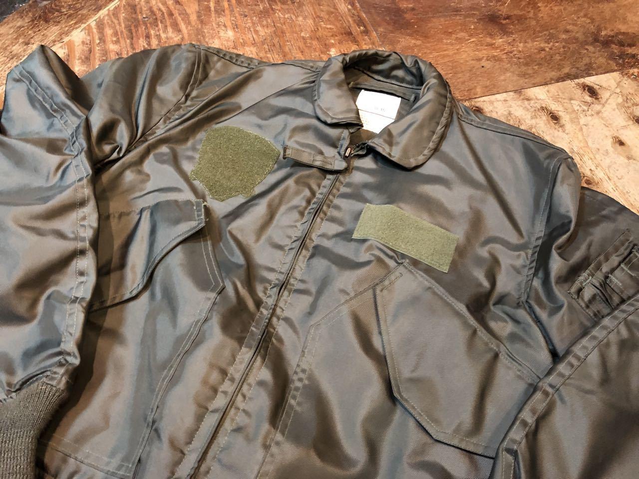 11月24日(日)入荷!90s デッドストック U.S.A.F  CWU-36P Jacket_c0144020_13090090.jpg
