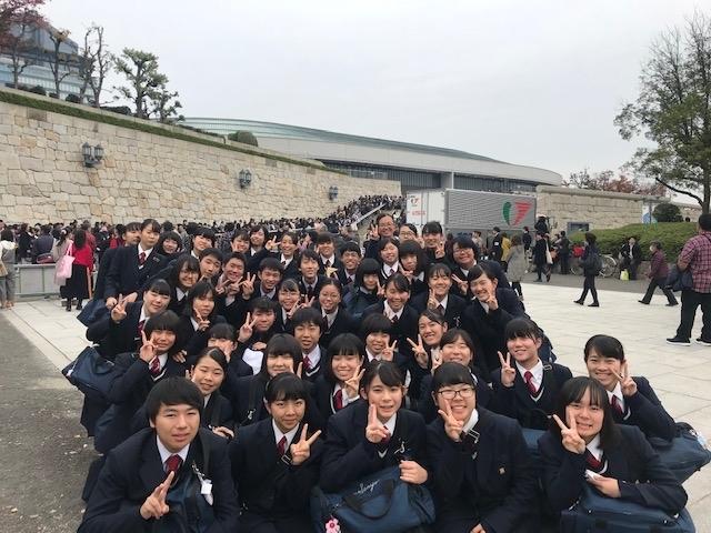 大坂城ホールへやって来ました!_d0016622_22492238.jpg