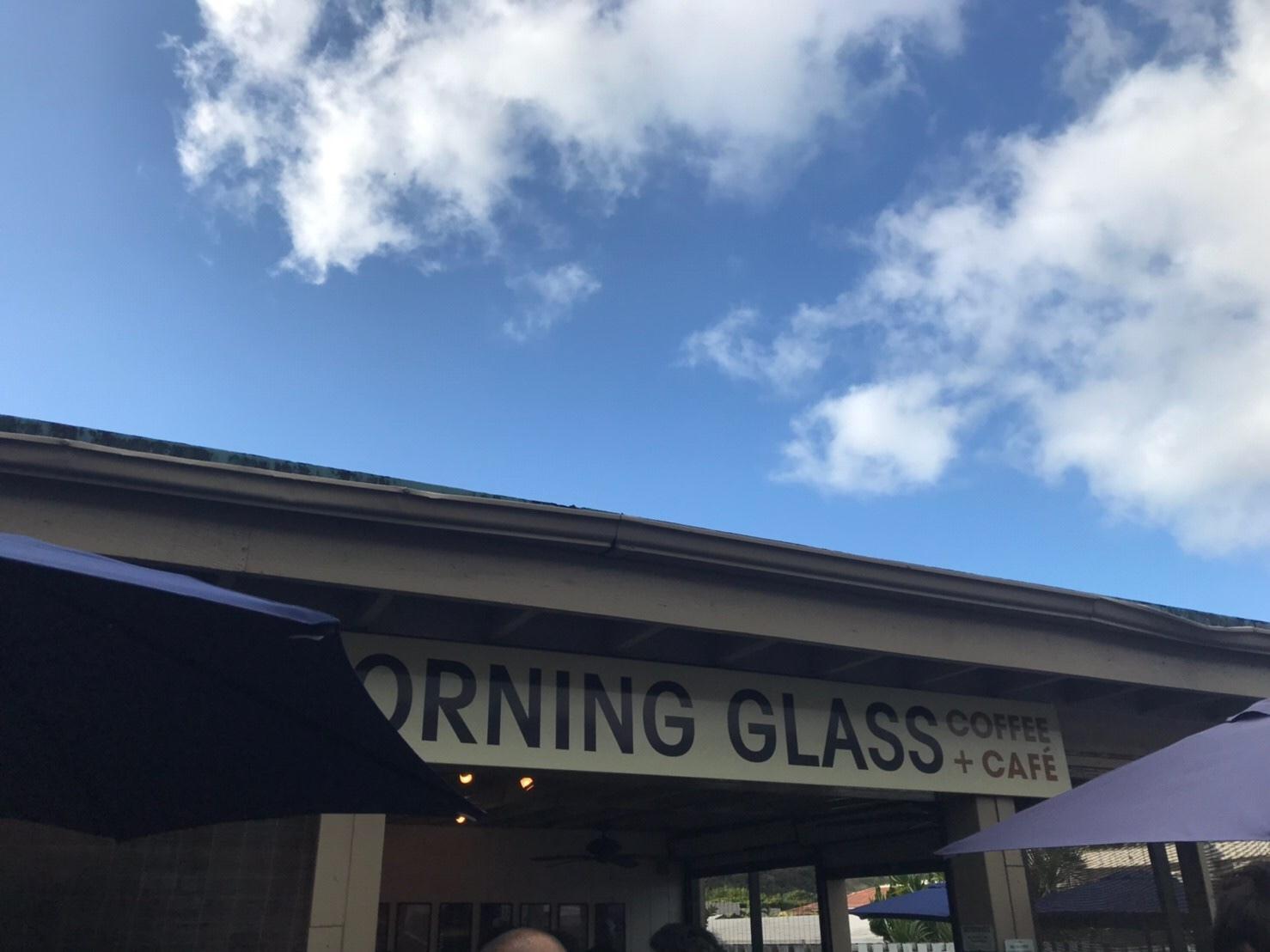 マノアの空気もおいしいモーニング グラス コーヒー_a0293226_13361294.jpg