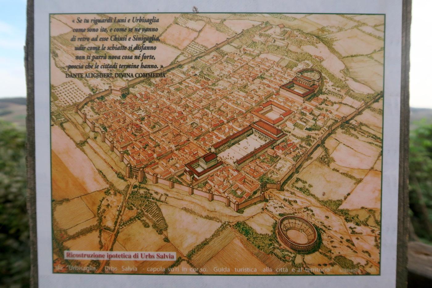 秋色の古代に栄えた町の跡、ウルブス・サルヴィア考古学公園_f0234936_7432810.jpg