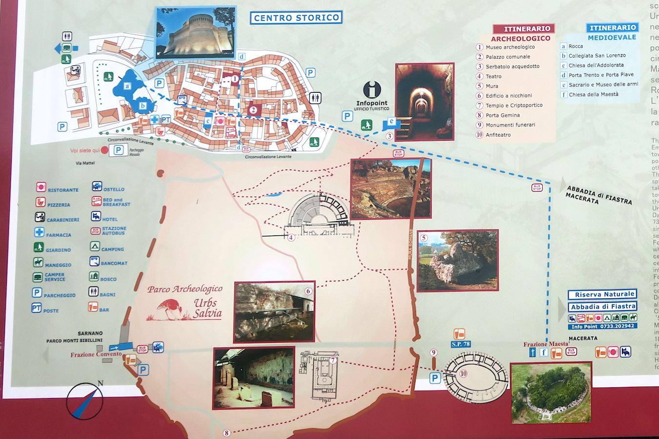 秋色の古代に栄えた町の跡、ウルブス・サルヴィア考古学公園_f0234936_8123683.jpg