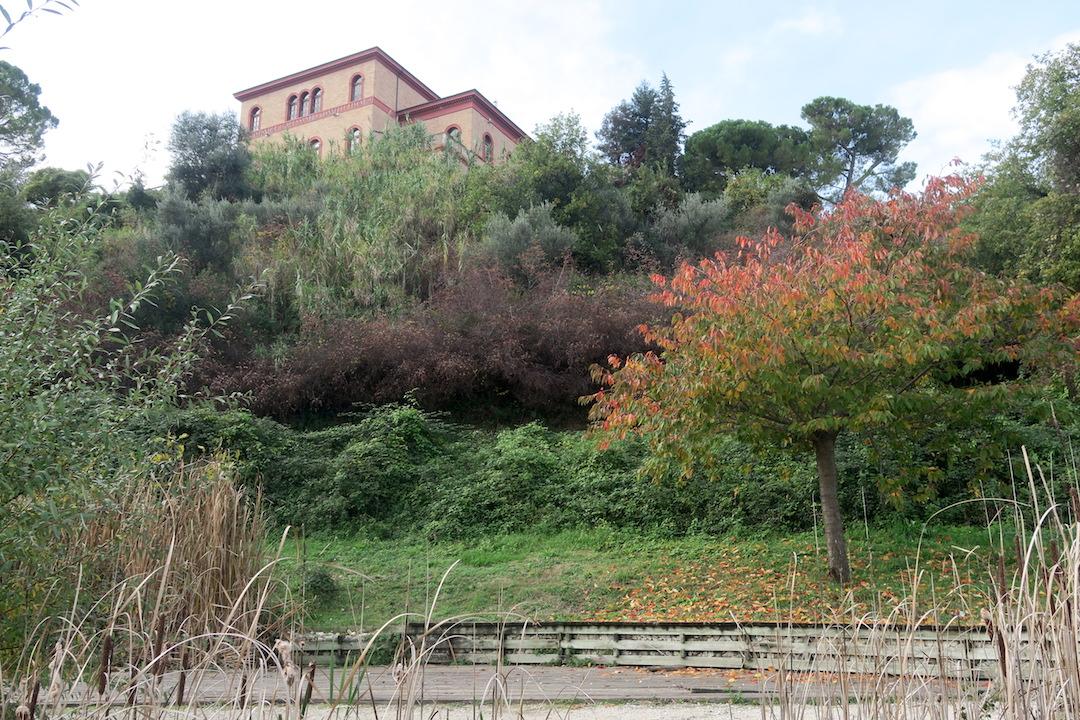 秋色の古代に栄えた町の跡、ウルブス・サルヴィア考古学公園_f0234936_8315717.jpg
