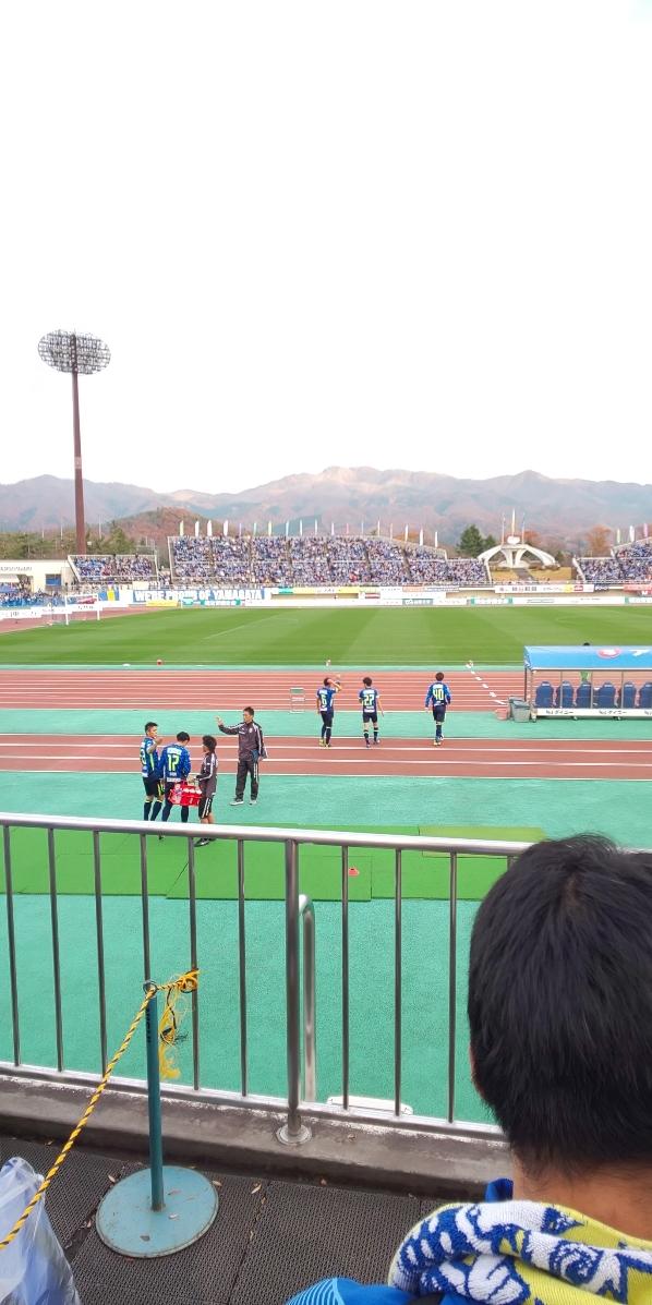 J2リーグホーム最終戦_d0177045_21540113.jpg