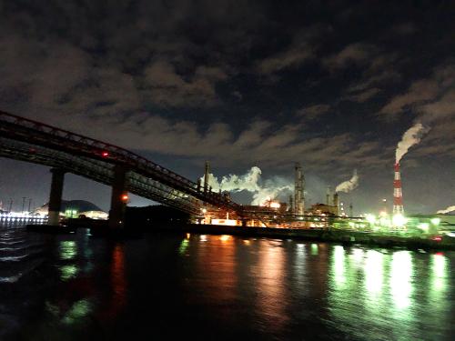 四日市コンビナート夜景クルーズ_e0292546_07263625.jpg