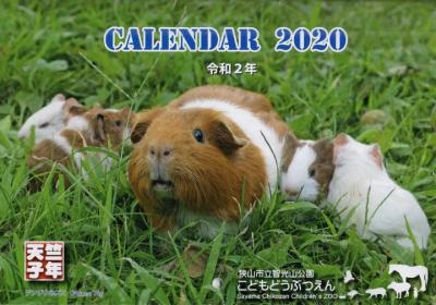 2020子年カレンダー。~智光山公園こども動物園~_c0017651_12430669.jpg