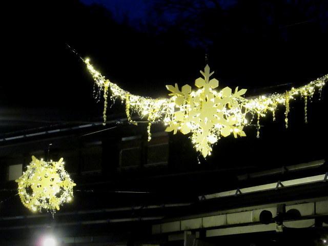 ハルニレテラス「幸せが灯る街」* やどりぎのイルミネーション♪_f0236260_23481031.jpg