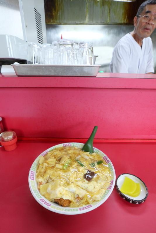 中華料理 やまちゃんのトロットロカツ丼_a0077663_09410896.jpg