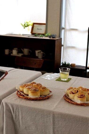 日本一適当なパン教室~シナモンロール*講座~レポ_f0224568_13165641.jpg
