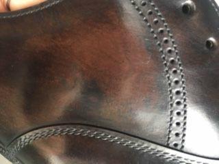 ブログ『あ~、もったいない!!折角の良い靴が。。。(T_T)』_b0365069_18541489.jpg