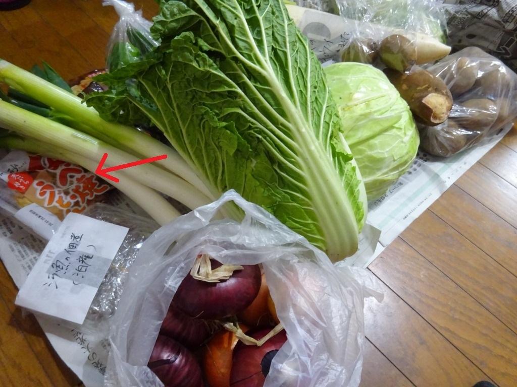 実家からの野菜2019 第五段!連日野菜サラダ美味!キウイも!_d0061678_15593379.jpg