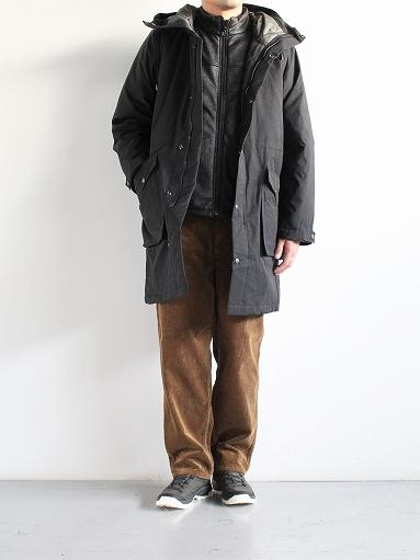 Needles Sportswear Warm-Up Stand Collar Jac - Synthetic Mouton / Black_b0139281_12254226.jpg