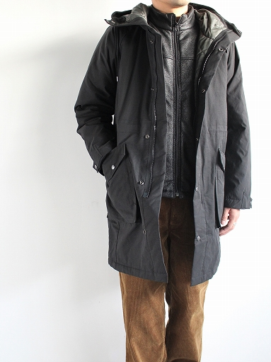 Needles Sportswear Warm-Up Stand Collar Jac - Synthetic Mouton / Black_b0139281_1225733.jpg