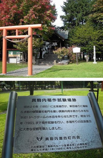 真駒内第一公園と真駒内神社_f0078286_06530510.jpg
