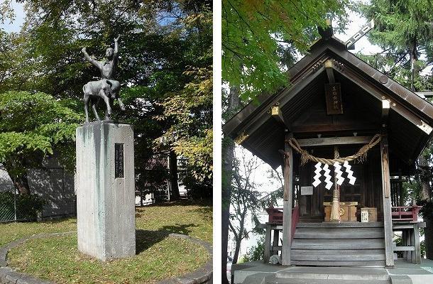 真駒内第一公園と真駒内神社_f0078286_06544671.jpg