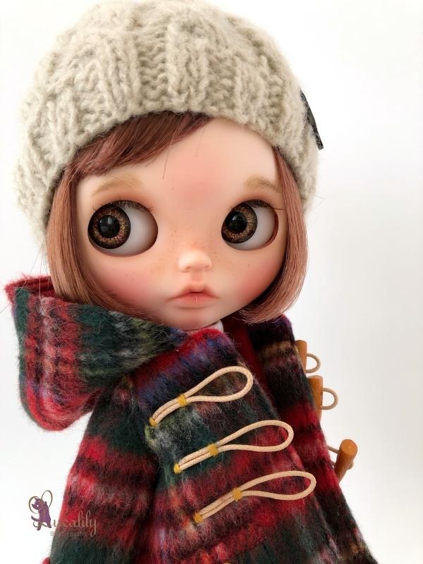 * lucalily * dolls clothes * Royal stuart duffel coat set *_d0217189_23453060.jpg