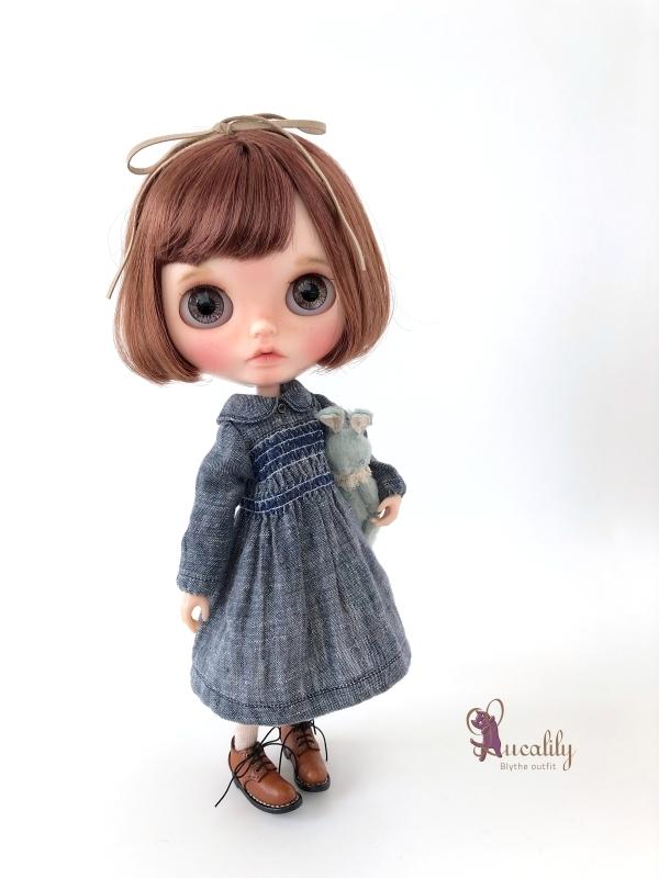 * lucalily * dolls clothes * Royal stuart duffel coat set *_d0217189_23453542.jpg