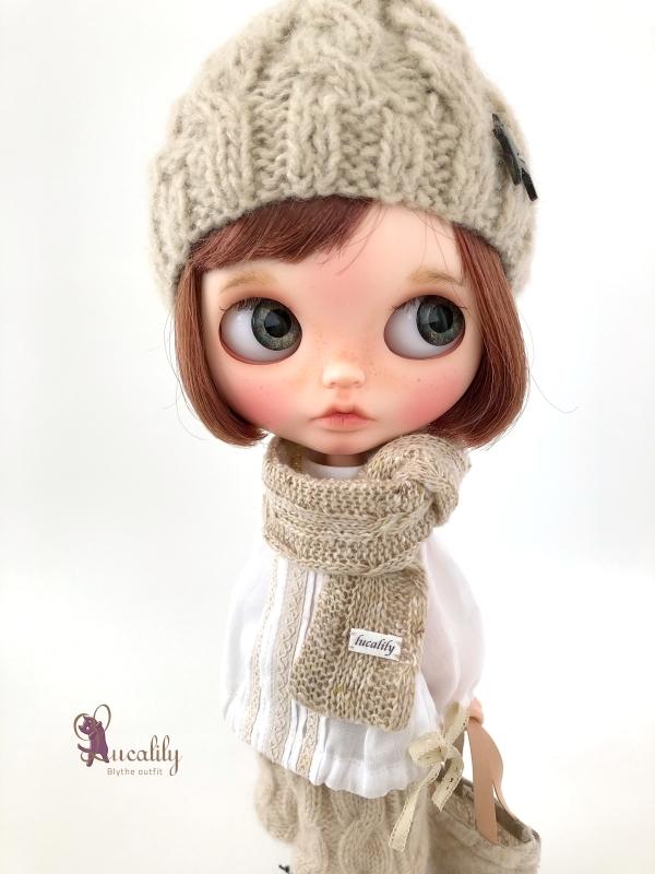 * lucalily * dolls clothes * Royal stuart duffel coat set *_d0217189_23454016.jpg