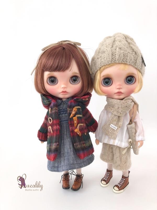 * lucalily * dolls clothes * Royal stuart duffel coat set *_d0217189_23454291.jpg