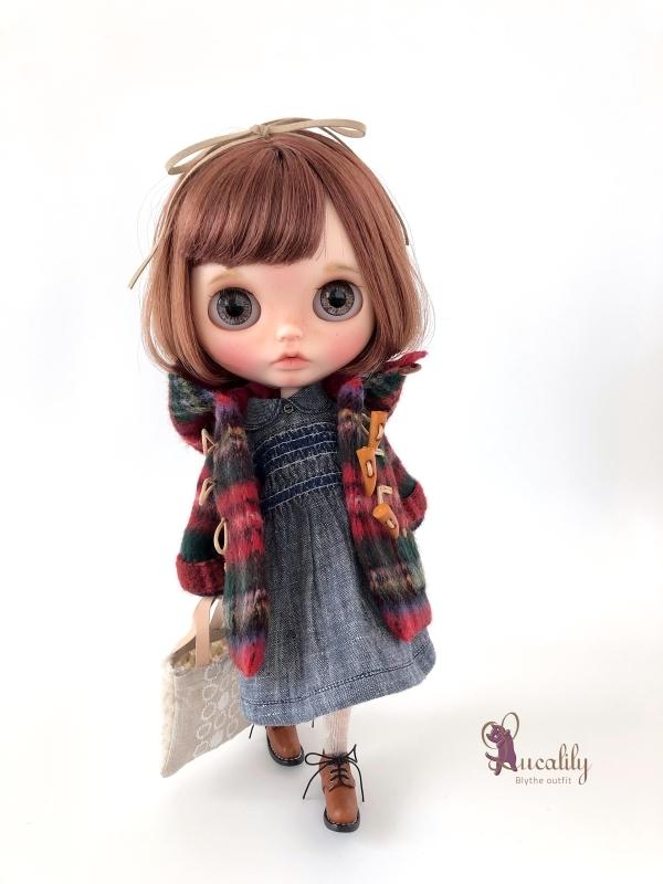 * lucalily * dolls clothes * Royal stuart duffel coat set *_d0217189_23454532.jpg