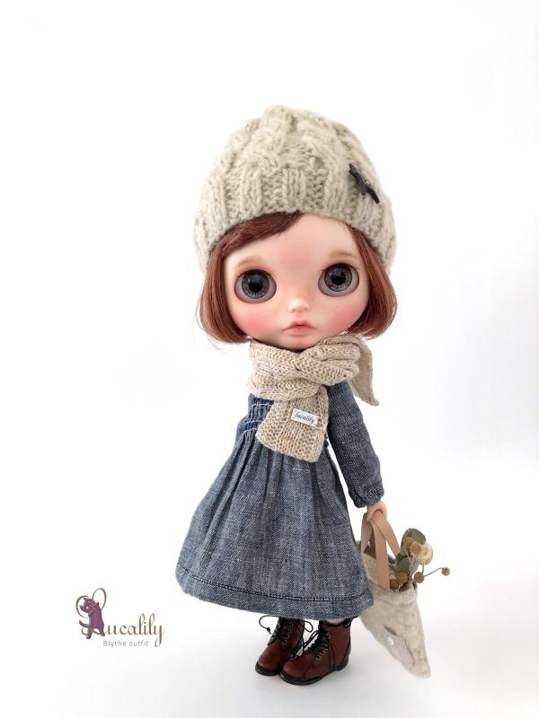 * lucalily * dolls clothes * Royal stuart duffel coat set *_d0217189_23455713.jpg