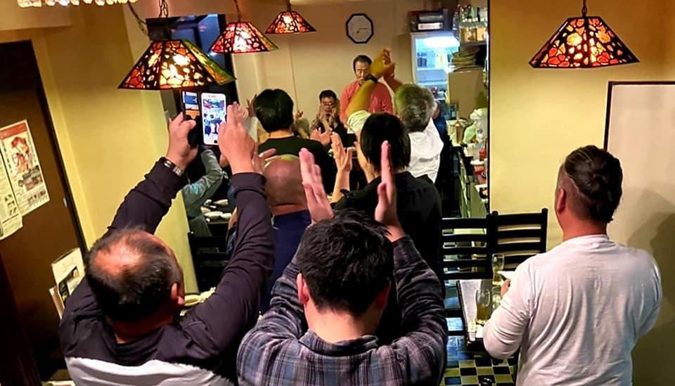 黒岡和歌山支部長(青森県三沢市出身)主催の、全和歌山県大会の応援です。_c0186691_14471622.jpg