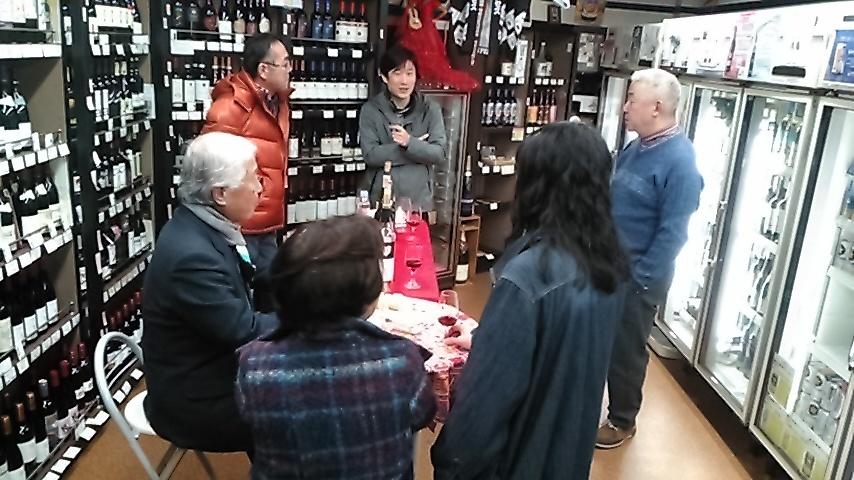 11月の店内ワインも多くの方々にご参加頂きました!_f0055803_15014667.jpg