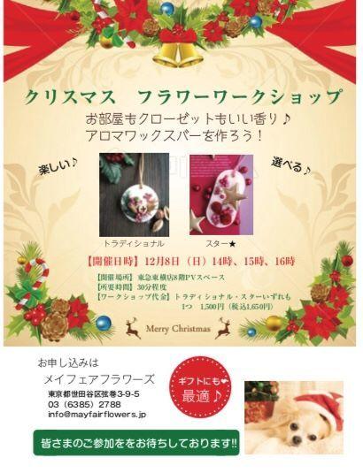 【☆出店します☆】東急東横店クリスマスポップアップショップ♪_d0000304_13145457.jpg