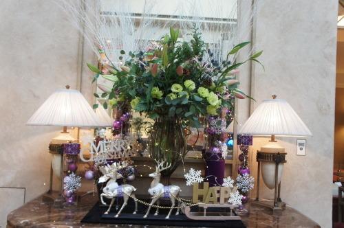 【ホテルのクリスマスツリー♪】_f0215714_15292162.jpg